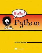 NEW Hello! Python by Anthony S. Briggs