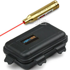 7mm REM MAG Brass Laser Cartridge Bore Sight Boresighter +VERY100 Waterproof Box