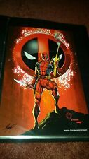 Deadpool 11x17 Art Print Poster by Marat Mychaels nice Awesome art