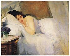 "Eva Gonzales ""MORNING AWAKENING"" Fine Art Reproduction"