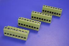 4 TE Connectivity Pluggable Terminal Blocks 796640-8 5mm pitch 8 poles
