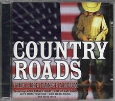 CD 15T COUNTRY ROADS LINE DANCE ALBUM DON FARDON/DRIVER BROTHERS/DOCKERY BOYS