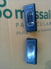 NEW Renault Fuego License Plate Lights Pair
