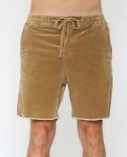 BNWT The Critical Slide Society Mr Lazy Cord Walk Short 34 Sand TCSS