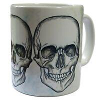Skulls Mug, Gothic Skulls, Goth Skulls, Skull, Skull Coffee Mug.