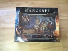 World of Warcraft Action Figure Set Gryphon/Lothar Frostwolf/Blackhand New