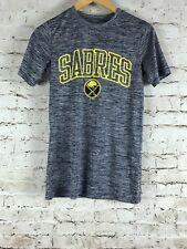 Men's Buffalo Sabres T-Shirt Size XS Gray Short Sleeve NHL Hockey