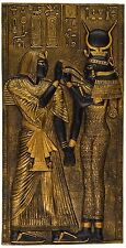 Ancient Egypt Egyptian Goddess Isis Wall Plaque Sculpture NEW