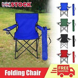Portable Folding Outdoor Chair Camping Garden Fishing Seat Festival Beach Patio