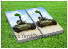 Vinyl Wraps Cornhole Boards Decals Us Army Tank Game Stickers 88