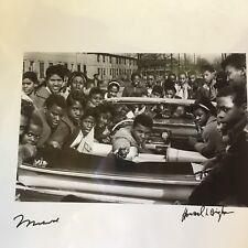 Muhammad Ali Taschen Silver Gelatin Howard Bingham Signed Photo JSA COA Cadillac