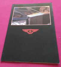 Bentley Eight / Mulsanne / Mulsanne Turbo / Turbo R / Continental, 1984