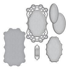 Spellbinders Designer Series Die ~ CURLED GRACE OVAL ~ S4-732 ~ Amazing Paper