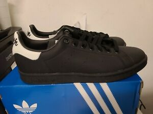 Adidas stan smith Black Size 7 #2389-D1