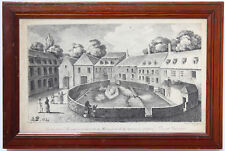 LITHOGRAPHIE 1824 NERIS-LES-BAINS ALLIER SOURCES THERMALES