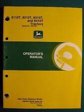 John Deere 8110T, 8210T, 8310T, 8410T Tractor Operator'S Manual