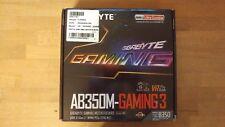 GIGABYTE GA-AB350M-Gaming 3 (AM4, DDR4, 2x USB 3.1 Gen 2, M.2) AMD Ryzen OVP