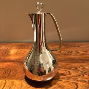 GEORG JENSEN - DANISH STERLING SILVER COFFEE POT BY SIGVARD BERNADOTTE