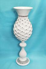 Vase Fiberglass Garden Home Decor Acrylic Diamond Decoration Indoor Outdoor