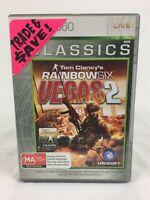 Tom Clancy's Rainbow Six : Vegas 2 - With Manual - XBOX 360 - PAL