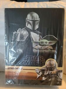 Hot Toys TMS015 The Mandolorian and the child Beskar Deluxe Set