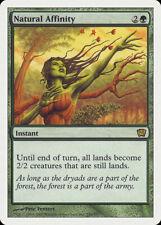 Magic MTG Tradingcard Ninth Edition 2005 Natural Affinity 256/350 FRENCH