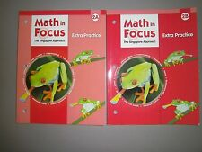 Math in Focus, Grade 2, Extra Practice Books for Both 2A & 2B - Set of 2 Books