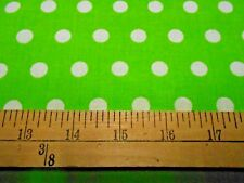 1 yard Little Dot Lime Fabric