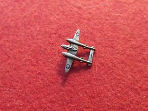 P 38 Lightning Fighter Lapel Pin Insignia  AAF US Air Corps