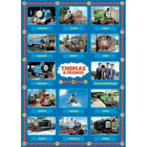 """Thomas The Tank Engine Poster – TV Series Characters - 91 x 61 cm 36"""" x 24"""""""