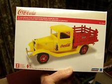 Lindberg '34 Ford Coca Cola Delivery Truck Model NRFB Original Shrink Wrap Seal