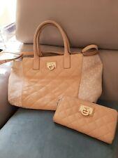 DKNY Nappa Leather Handbag And Purse