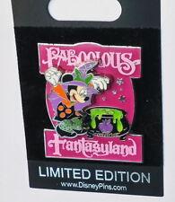 Disney Pin Limited Edition Mickey Faboolous Fantasyland New on Card