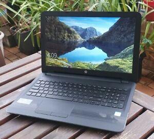 "HP PAVILION 15.6"" LAPTOP - INTEL CORE I3 7th Gen - 256GB SSD - 8GB RAM - Win10"