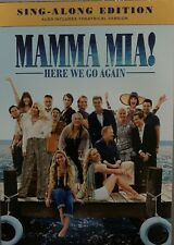MAMA MIA! HERE WE GO AGAIN SING ALING EDITION DVD NEW W/SLIPCOVER