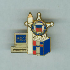 USSS SECRET SERVICE pin M&O MANAGEMENT AND ORGANIZATION DIVISION