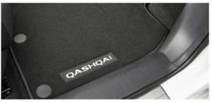 BRAND NEW GENUINE NISSAN QASHQAI J11 CARPET FLOOR MAT SET OF 4