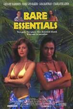 BARE ESSENTIALS Movie POSTER 27x40 Gregory Harrison Lisa Hartman Black Mark