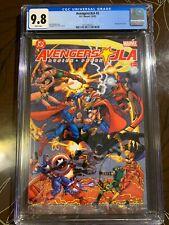 JLA/Avengers 1-4 Complete Set 2003 #2, #3 & #4 CGC 9.8 NEAR MINT/MINT