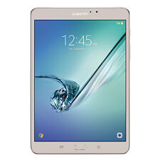 "Samsung Galaxy Tab S2 SM-T713NZDSXAR 8"" 32GB Wi-Fi Gold With Pouch"