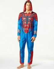 SPIDER-MAN Marvel Costume Jumpsuit Union Suit Pajamas, Men's Medium NEW WITH TAG