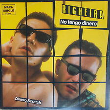 """12"""" Maxi Righeira – No Tengo Dinero ,VG+,cleaned, TELDEC 6.20267  Germany 83"""
