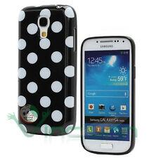 Custodia POIS per Samsung Galaxy S4 mini i9195 cover NERA case tpu flessibile