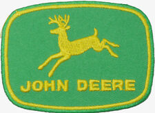 John Deere Marine Diesel Engine Badge Embroidered Patch Sew/Iron on 7.5 x 5.5cm