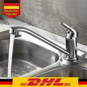 2021 Küchenarmatur Wasserhahn Küche Amatur Spüle Mischbatterie Einhebel DE
