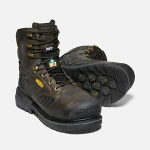 "Keen Philadelphia 8"" Waterproof Carbon-Fibre Toe Safety Work Boots 1022091"