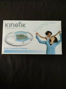 Kinetic Body Composition Monitor Body Mass Fat Percentage Reader