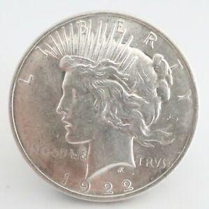 USA American 1922 Silver Dollar coin