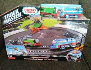 Thomas & Friends Trackmaster  Percy Railway Race Set motorised  expandable new