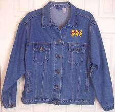 Pre-Owned Disney Winnie the Pooh Denim Jean Jacket Coat, XL